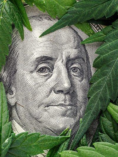 Legality of cannabis, legal and illegal cannabis on the world.Marijuana Cannabis business concept. Medical Marijuana stock market concept. THC CBD Dollar Cannabis Marijuana